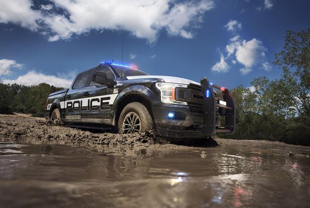 Ford F-150 Police Responder 2018 - Xe bán tải chuyên dụng của cảnh sát đầu tiên trên thế giới - Ảnh 2.