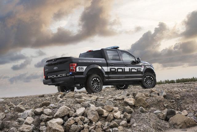 Ford F-150 Police Responder 2018 - Xe bán tải chuyên dụng của cảnh sát đầu tiên trên thế giới - Ảnh 4.
