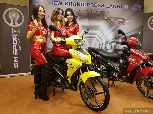 SM Sport 110R 2017 - Đối thủ mới của Honda Wave Alpha - Ảnh 1.