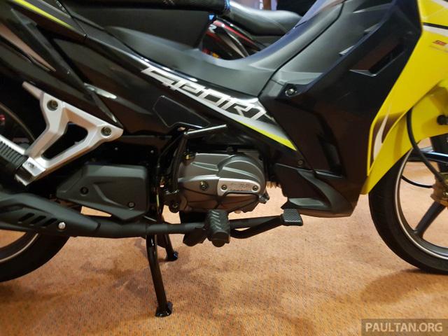 SM Sport 110R 2017 - Đối thủ mới của Honda Wave Alpha - Ảnh 4.