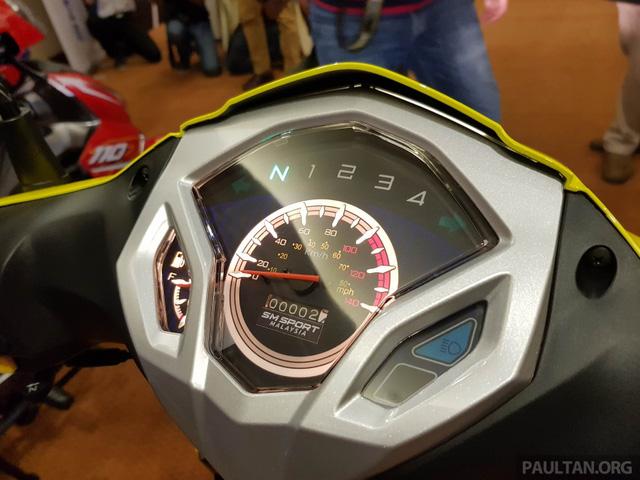 SM Sport 110R 2017 - Đối thủ mới của Honda Wave Alpha - Ảnh 8.
