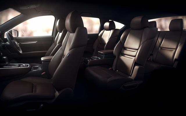 Xuất hiện hình ảnh ngoại thất chính thức đầu tiên của Mazda CX-8, giống cả CX-5 lẫn CX-9 - Ảnh 1.