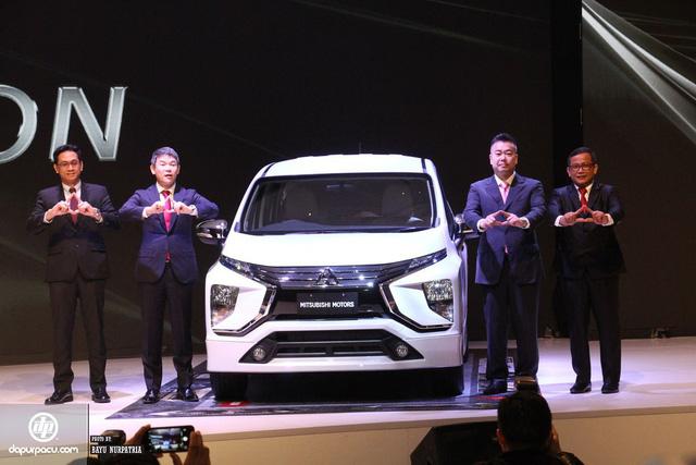 Xem trước hình ảnh ngoài đời thực của mẫu MPV mới mà Mitsubishi dành cho Đông Nam Á - Ảnh 1.