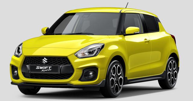 Suzuki Swift Sport 2017 lần đầu tiên được vén màn - Ảnh 1.