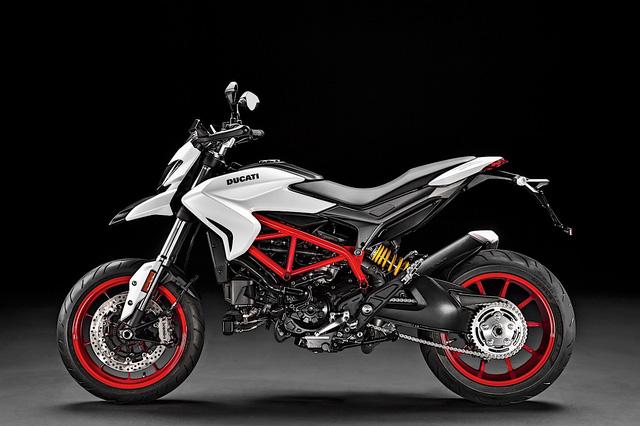 Ducati Hypermotard 939 2018 có thêm màu sơn trắng nổi bật - Ảnh 4.