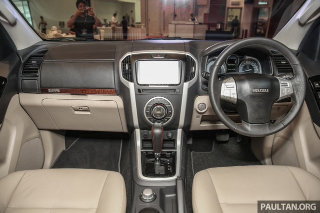 Ngắm kỹ Isuzu MU-X 2017 có thể về Việt Nam trong tương lai để cạnh tranh Toyota Fortuner - Ảnh 8.