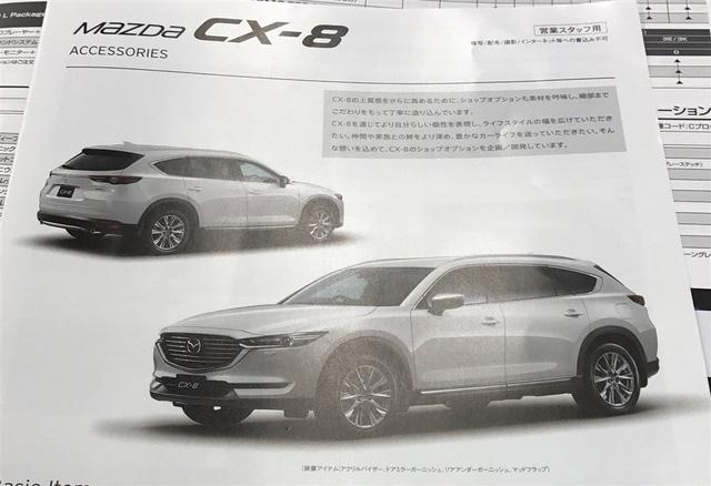 Crossover 7 chỗ Mazda CX-8 ngày càng lộ diện rõ hơn - Ảnh 1.