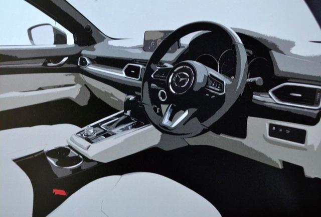Crossover 7 chỗ Mazda CX-8 ngày càng lộ diện rõ hơn - Ảnh 5.