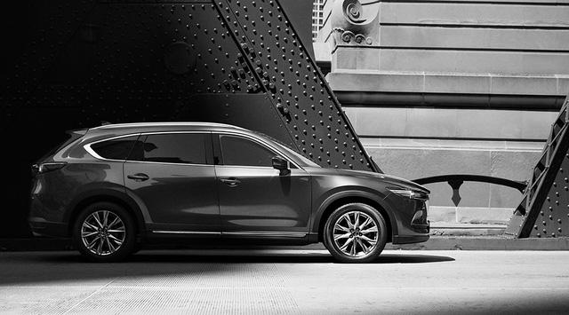 Crossover 7 chỗ Mazda CX-8 ngày càng lộ diện rõ hơn - Ảnh 7.