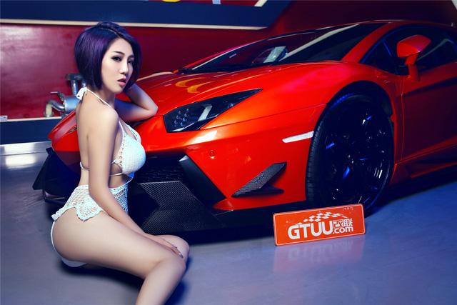 Mê mệt với cô nàng bên Lamborghini Aventador LP-700 - Ảnh 8.