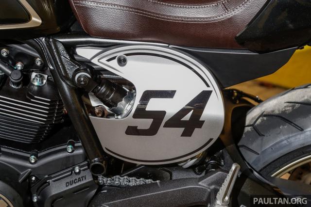 Sau Việt Nam, Ducati mang cặp đôi Scrambler Desert Sled và Café Racer đến Malaysia - Ảnh 4.