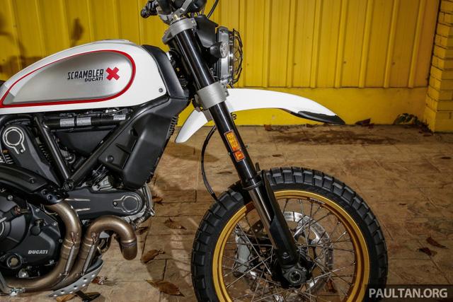 Sau Việt Nam, Ducati mang cặp đôi Scrambler Desert Sled và Café Racer đến Malaysia - Ảnh 12.