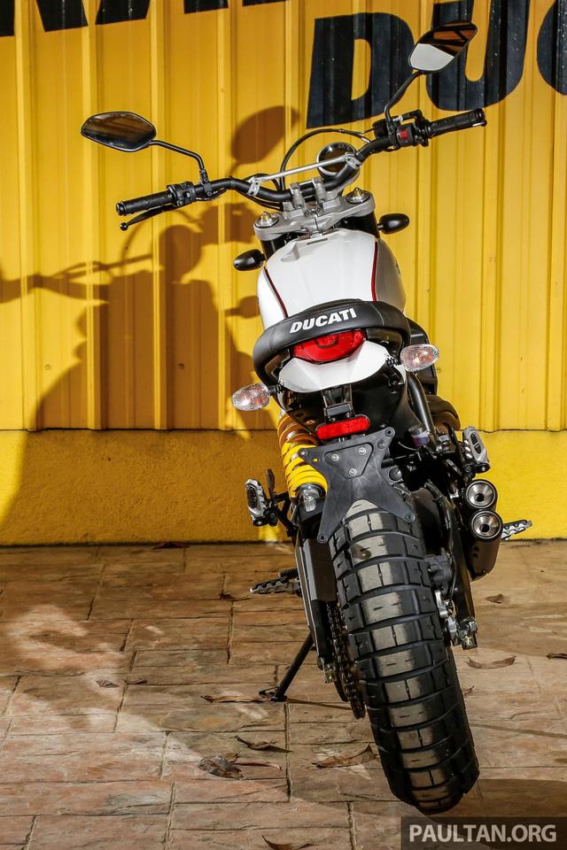 Sau Việt Nam, Ducati mang cặp đôi Scrambler Desert Sled và Café Racer đến Malaysia - Ảnh 13.