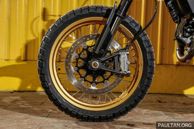 Sau Việt Nam, Ducati mang cặp đôi Scrambler Desert Sled và Café Racer đến Malaysia - Ảnh 16.