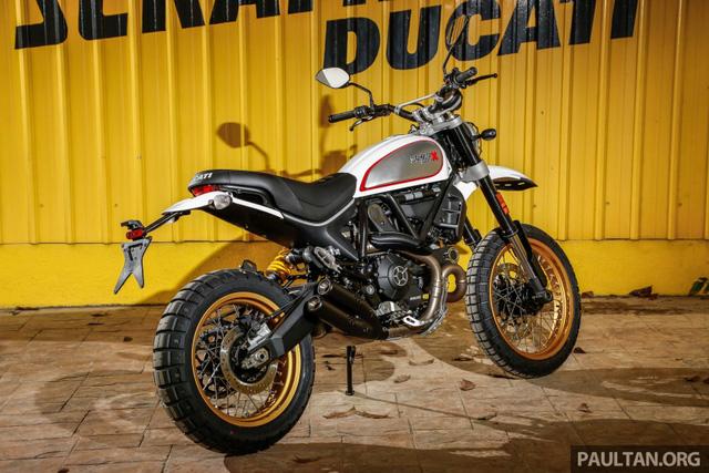 Sau Việt Nam, Ducati mang cặp đôi Scrambler Desert Sled và Café Racer đến Malaysia - Ảnh 17.