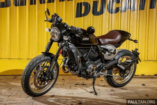 Sau Việt Nam, Ducati mang cặp đôi Scrambler Desert Sled và Café Racer đến Malaysia - Ảnh 19.