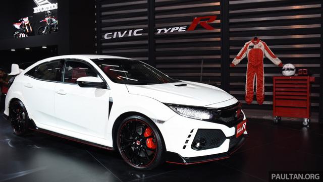 Honda Civic Type R 2017 tiếp tục ra mắt Đông Nam Á, giá từ 1,69 tỷ Đồng - Ảnh 6.