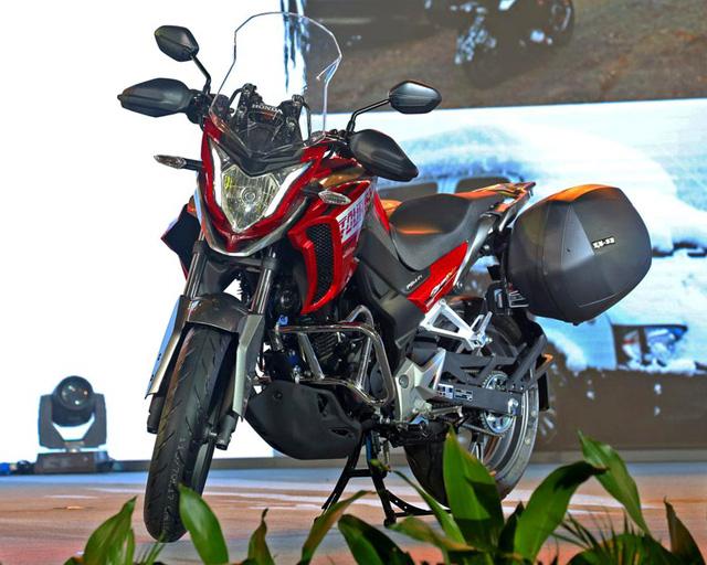 Honda CB190X Adventure - Xe đường trường cho người mới chơi mô tô - Ảnh 1.