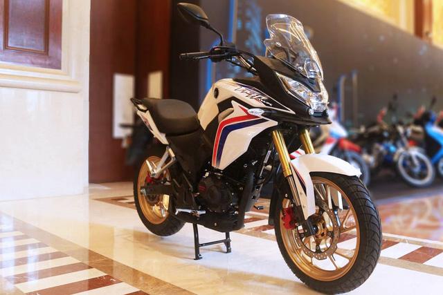 Honda CB190X Adventure - Xe đường trường cho người mới chơi mô tô - Ảnh 2.