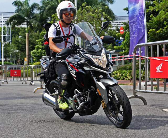 Honda CB190X Adventure - Xe đường trường cho người mới chơi mô tô - Ảnh 11.