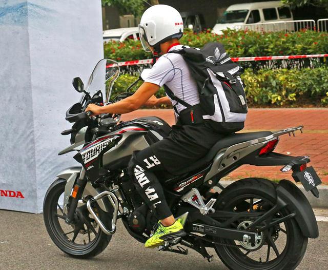 Honda CB190X Adventure - Xe đường trường cho người mới chơi mô tô - Ảnh 12.