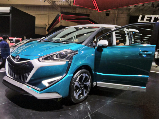 Xe gia đình Toyota Sienta lột xác từ hình tượng dễ thương sang đậm chất thể thao - ảnh 3