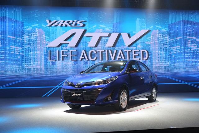 Ngắm hình ảnh bằng xương, bằng thịt của sedan giá rẻ Toyota Yaris Ativ mới ra mắt - Ảnh 1.