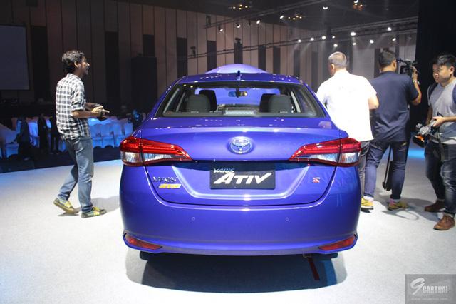 Ngắm hình ảnh bằng xương, bằng thịt của sedan giá rẻ Toyota Yaris Ativ mới ra mắt - Ảnh 6.