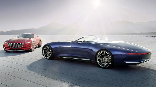 Vision Mercedes-Maybach 6 Cabriolet - Xe mui trần siêu sang tuyệt đẹp - Ảnh 1.