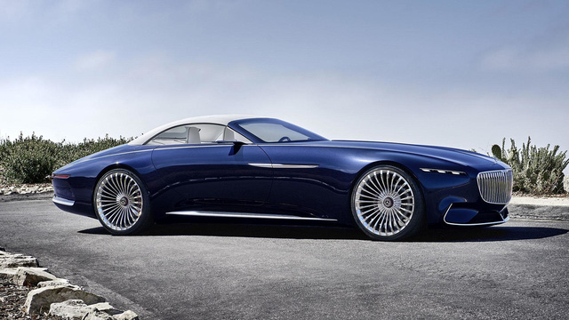 Vision Mercedes-Maybach 6 Cabriolet - Xe mui trần siêu sang tuyệt đẹp - Ảnh 2.