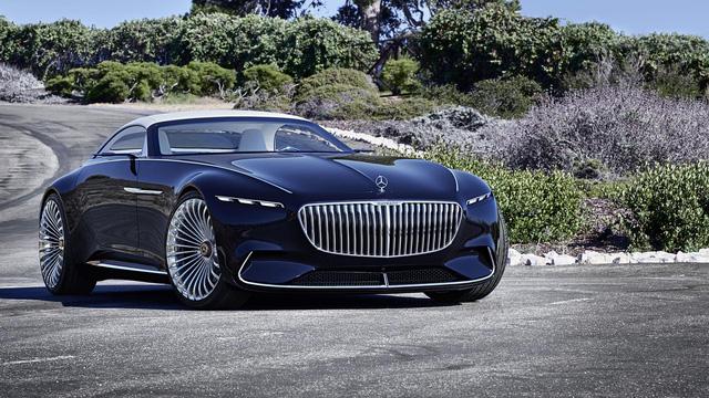 Vision Mercedes-Maybach 6 Cabriolet - Xe mui trần siêu sang tuyệt đẹp - Ảnh 3.