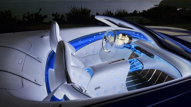 Vision Mercedes-Maybach 6 Cabriolet - Xe mui trần siêu sang tuyệt đẹp - Ảnh 6.