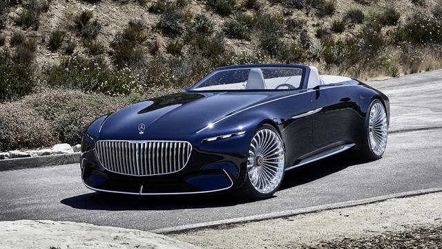 Vision Mercedes-Maybach 6 Cabriolet - Xe mui trần siêu sang tuyệt đẹp - Ảnh 10.