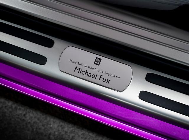 Diện kiến Rolls-Royce Dawn màu tím thửa riêng của một nhà sưu tập xe nổi tiếng - Ảnh 9.