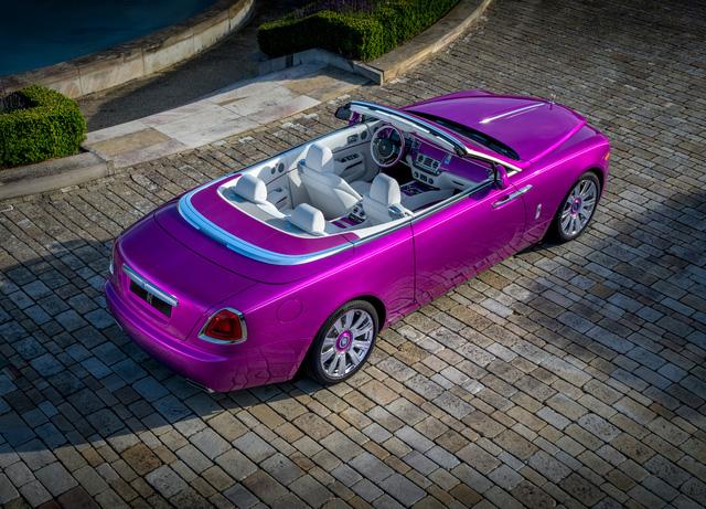 Diện kiến Rolls-Royce Dawn màu tím thửa riêng của một nhà sưu tập xe nổi tiếng - Ảnh 11.