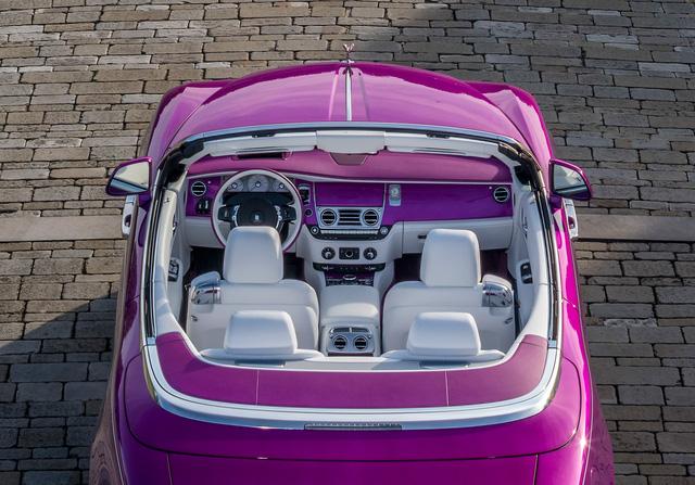 Diện kiến Rolls-Royce Dawn màu tím thửa riêng của một nhà sưu tập xe nổi tiếng - Ảnh 12.