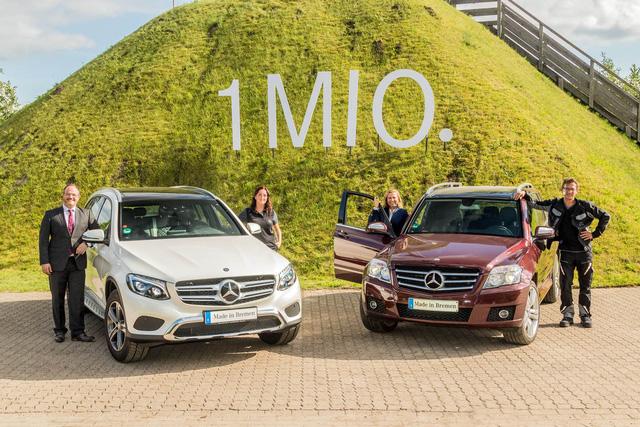 Chiếc SUV hạng sang Mercedes-Benz GLC thứ 1 triệu xuất xưởng - Ảnh 1.