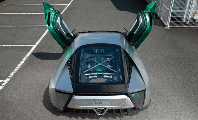 Kode 0 - Biến thể của Lamborghini Aventador, ra đời dưới tay người từng thiết kế Ferrari Enzo - Ảnh 8.
