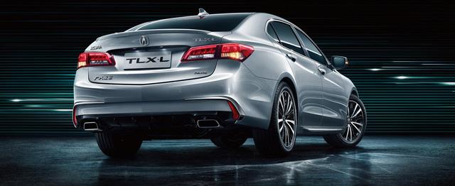 Acura TLX-L - Xe sang mới phục vụ nhà giàu Trung Quốc - Ảnh 1.