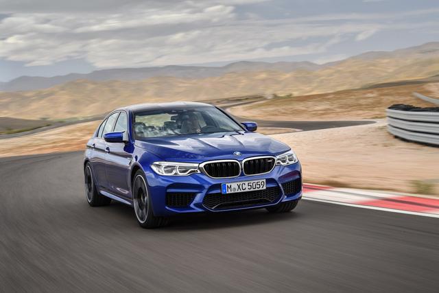 Sedan hiệu suất cao BMW M5 2018 chính thức được vén màn - 02