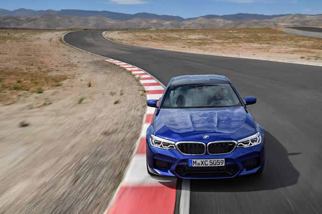 Sedan hiệu suất cao BMW M5 2018 chính thức được vén màn - 04