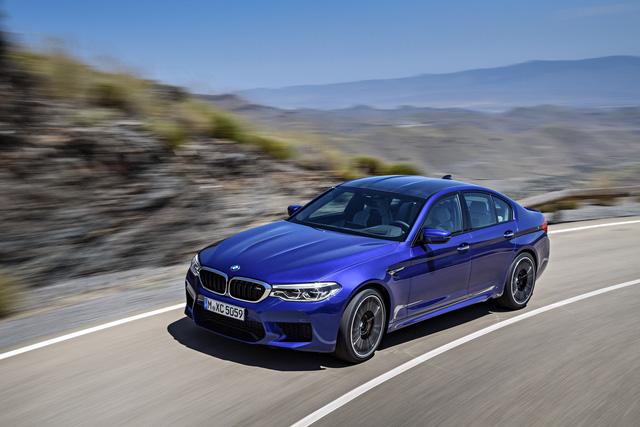 Sedan hiệu suất cao BMW M5 2018 chính thức được vén màn - 06
