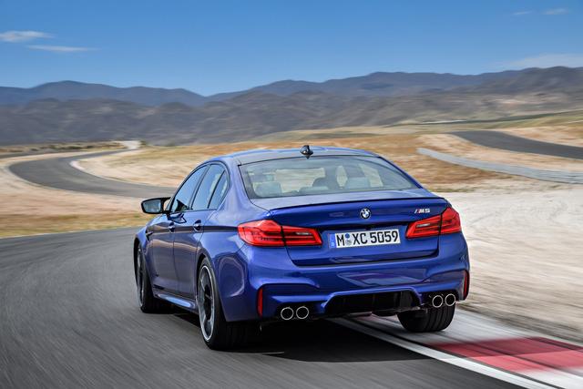 Sedan hiệu suất cao BMW M5 2018 chính thức được vén màn - 07