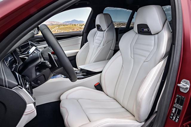Sedan hiệu suất cao BMW M5 2018 chính thức được vén màn - 21