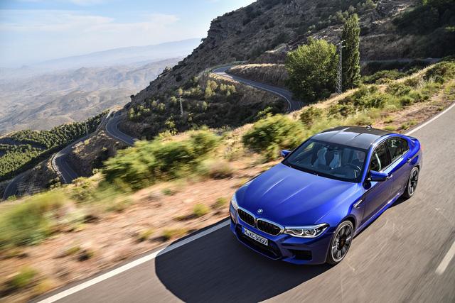 Sedan hiệu suất cao BMW M5 2018 chính thức được vén màn - 22