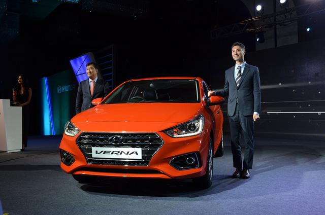 Phát thèm với xe chưa đến 300 triệu Đồng Hyundai Verna 2017 vừa ra mắt Ấn Độ - Ảnh 1.
