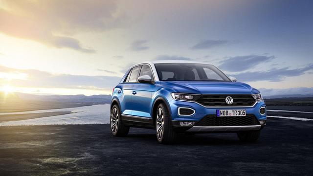 Volkswagen T-Roc - Crossover 5 chỗ hoàn toàn mới, cạnh tranh Honda HR-V và Mazda CX-3 - Ảnh 1.