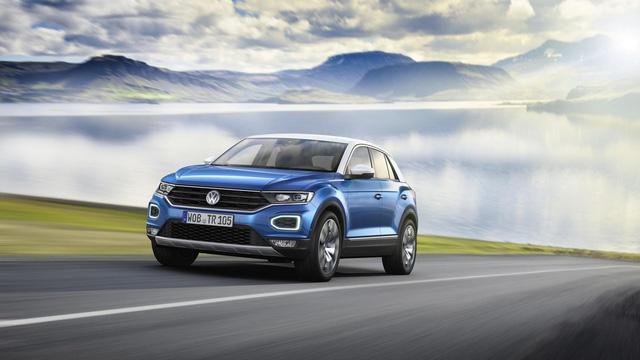Volkswagen T-Roc - Crossover 5 chỗ hoàn toàn mới, cạnh tranh Honda HR-V và Mazda CX-3 - Ảnh 2.