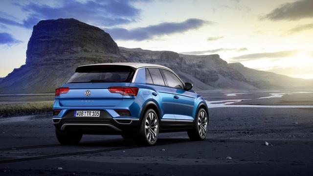 Volkswagen T-Roc - Crossover 5 chỗ hoàn toàn mới, cạnh tranh Honda HR-V và Mazda CX-3 - Ảnh 4.