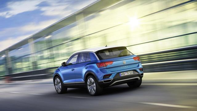 Volkswagen T-Roc - Crossover 5 chỗ hoàn toàn mới, cạnh tranh Honda HR-V và Mazda CX-3 - Ảnh 5.